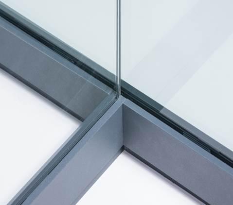 Good zonder verticale staanders zorgt systeem voor maximale beleving strakke vormgeving een - Maximale feuchtigkeit in wanden ...