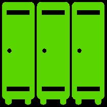 kast-groen